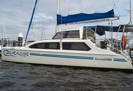 Sydney Harbour Cruises, Boat Hire Sydney Harbour Catalyst