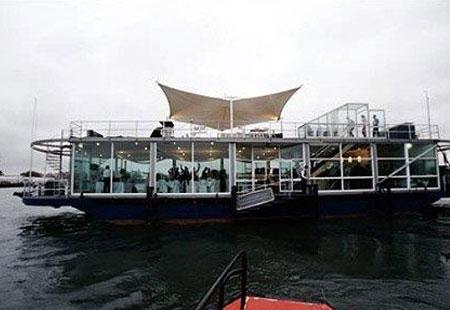 sydney harbour cruise pontoon