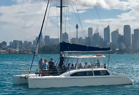 Sydney Harbour Cruises, Boat Hire Sydney Harbour Nevaeh