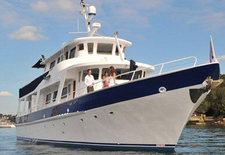 sydney harbour cruises, boat hire sydney harbour