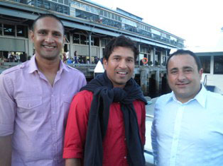 Sachin Tendulkar cruise on sydney harbour, sydney harbour cruise